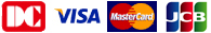 DC・VISA・MasterCard・JCB